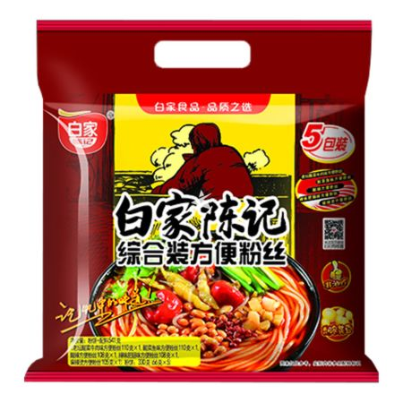 Baijia Instant Vermicelli 5 packs Assorted Flavour 538g