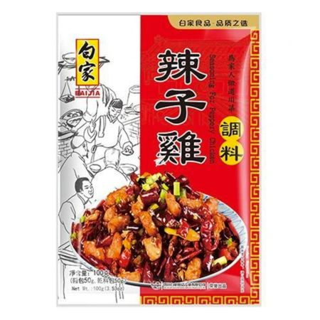 Baijia Seasoning for Peppery Chicken 100g