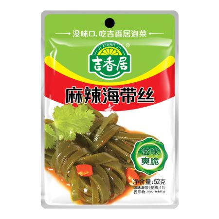 Ji Xiang Ju Spicy and Hot Shredded Kelp 52g