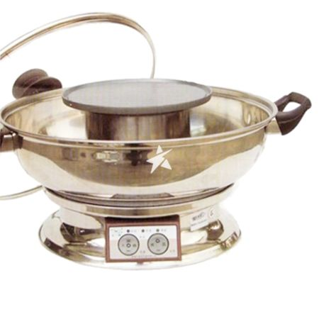 Hotpot HSK-120 Steam Boat & Multi-Cooker (with BBQ Grilled Heating Pallet) 4.2L 1600W