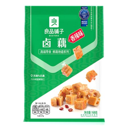 Bestore Stewed Lotus Root Spicy Flavour 168g