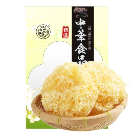 Double Swallow & Flower Dried White Fungus 80g