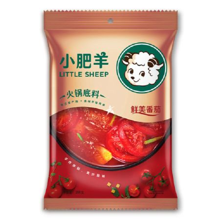 Little Sheep Tomato Soup Base for Hot Pot 200g