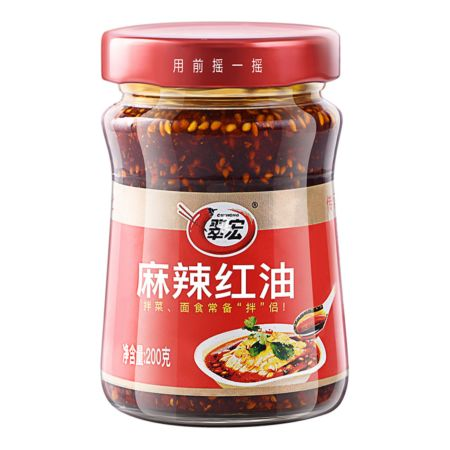 Cuihong Spicy Hot Chilli Oil Sauce 200g