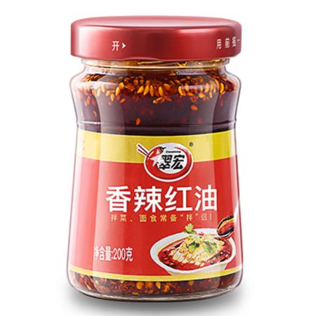 Cuihong Chilli in Oil 200g