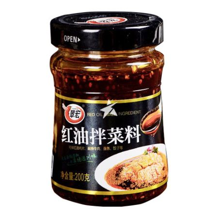 Cuihong Spicy Chilli Sauce for Cold Dish 200g