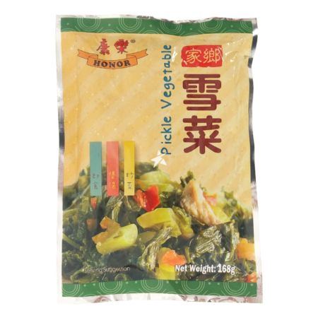 Honor Brand Pickled Vegetable (with Sweetener) 168g