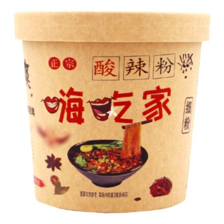 Hi Stomach Instant Vermicelli Hot & Sour Flavour (Thin) 130g