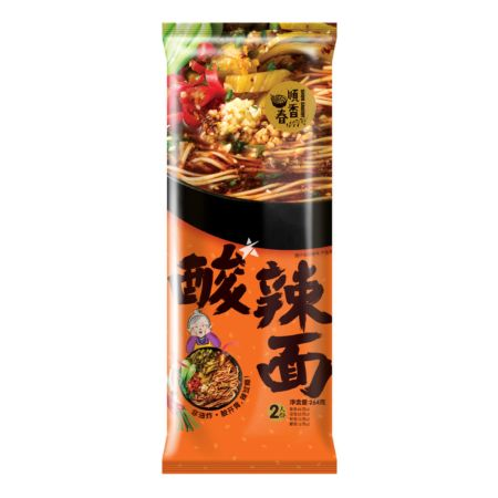 Shun Savoury Noodle with Sour and Spicy Sauce 2 Servings 264g
