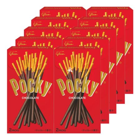 Glico Pocky - Chocolate (JP) 72g (Pack of 10)