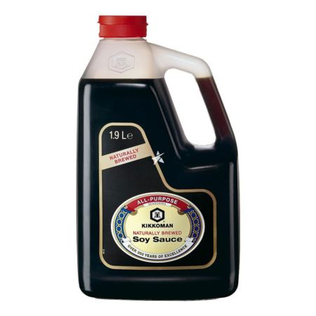 Kikkoman Naturally Brewed Soy Sauce 1.9L