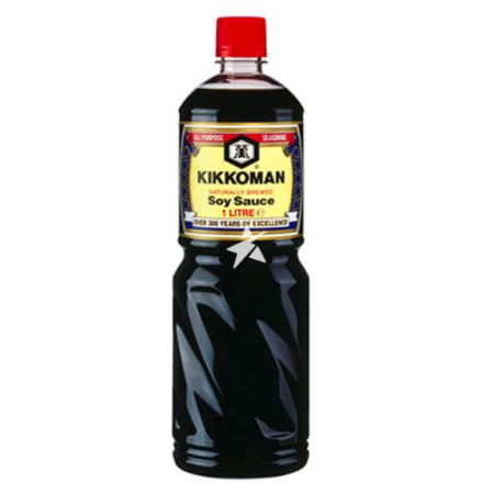 Kikkoman Soy Sauce 1 Litre - Europe Version