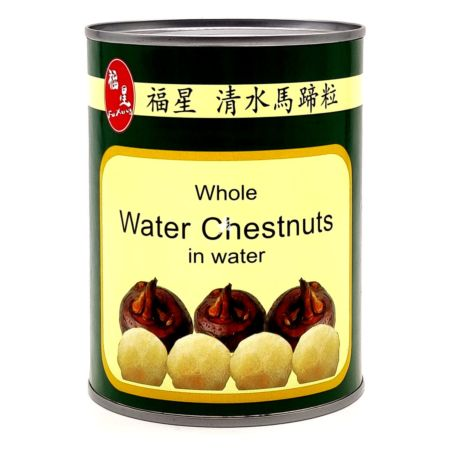 Fuxing Whole Water Chestnuts in Water Net Wt. 567g