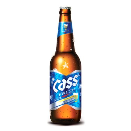 Cass Fresh Beer 330ml 4.5% Alc./Vol