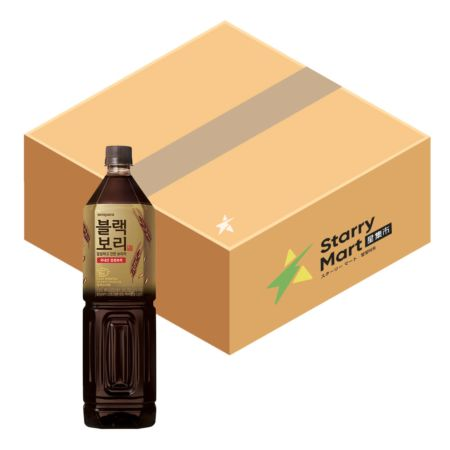 Hitejinro Roasted Dark Barley Tea 1.5L (6 Bottles)