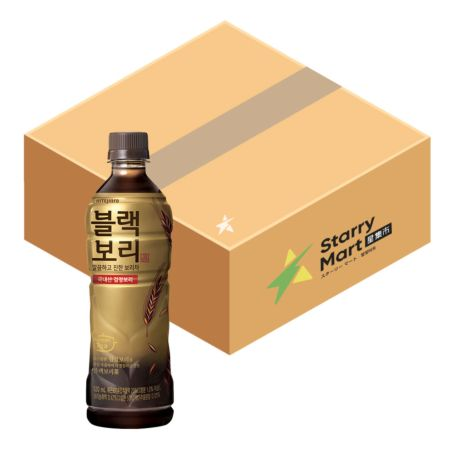 Hitejinro Roasted Dark Barley Tea 520ml (24 Bottles)