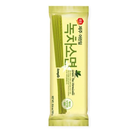 Sempio Green Tea Vermicelli (Wheat Noodle) 300g