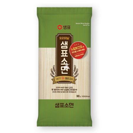 Sempio Wheat Noodles, Soft & Thin 500g