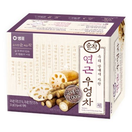 Sempio Lotus Root & Burdock Tea (0.8g*40 T/B) 32g
