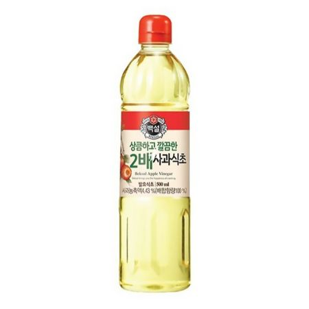CJ Beksul Double Strength Apple Vinegar 500ml