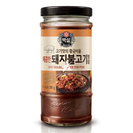 CJ Beksul Pork Bulgogi Marinade (Korean BBQ Sauce) 290g