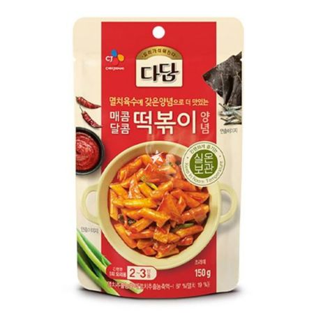 CJ Beksul Red Pepper Sauce for Tteobokki / Topokki 150g