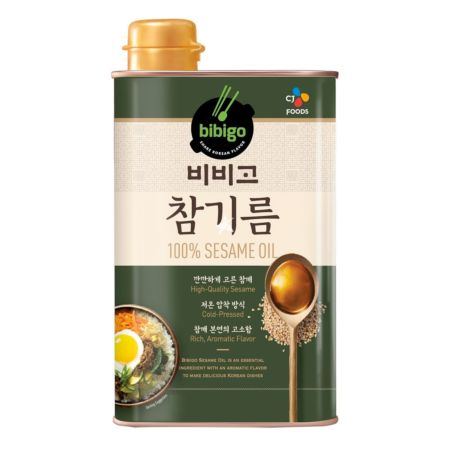 CJ Bibigo 100% Sesame Oil 500ml