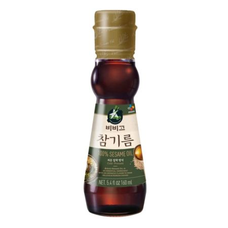 CJ Bibigo 100% Sesame Oil 160ml