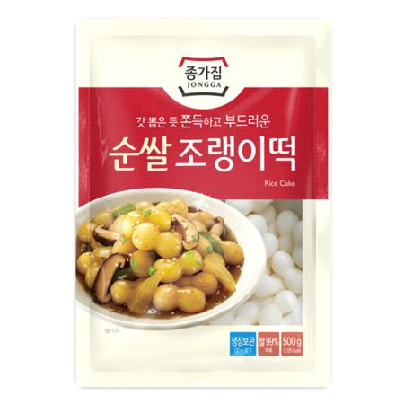 Chongga Rice Cake (Joreng) - Ball Type 500g