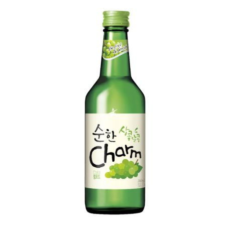 Lotte Chum Churum Soju - Green Grape Flavour 12% Alc 360ml