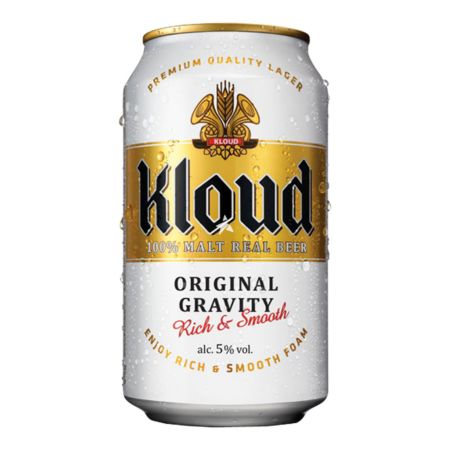 Kloud Beer Original Gravity 355ml 5% Alc./Vol