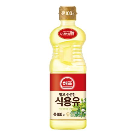 Haepyo Pure Refined Soybean Oil 0.5L