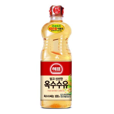 Haepyo Pure Refined Corn Oil 0.9L