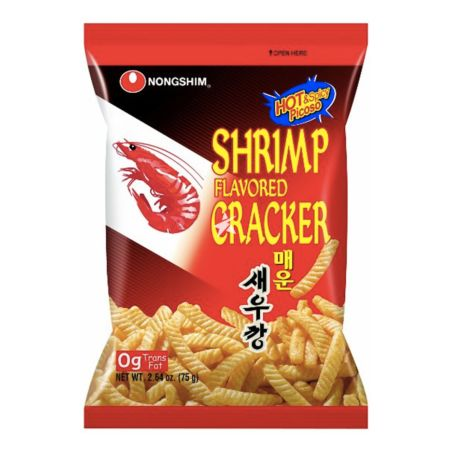 Nongshim Shrimp Flavored Cracker Hot 75g