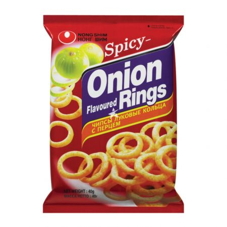 Nongshim Onion Rings Hot&Spicy 40g