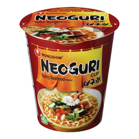 Nongshim Neoguri Spicy Seafood Flavour Cup Noodle 62g