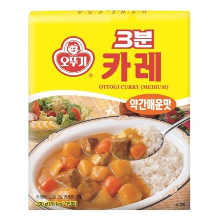Ottogi 3 Minutes Retort Curry (Medium) 200g