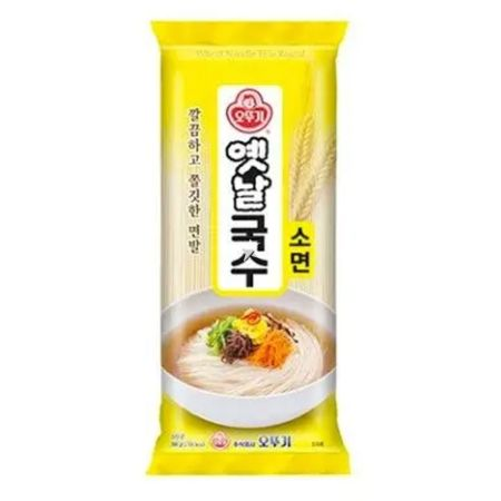 Ottogi Wheat Noodle (Thin Round) 500g