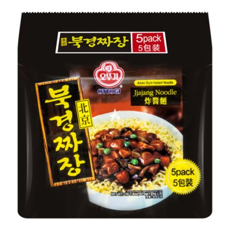 Ottogi Peking Jja Jang Ramen 135g (Pack of 5)
