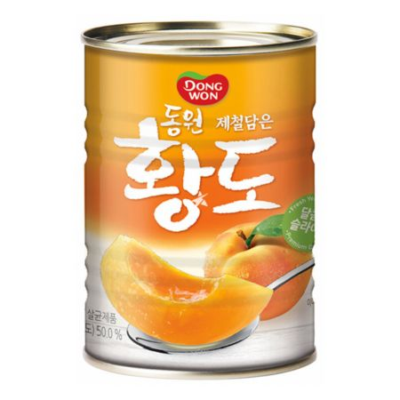Dongwon Canned Premium Yellow Peach 400g