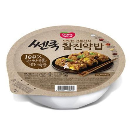 Dongwon Cooked Flavoured Glutinous Rice 190g