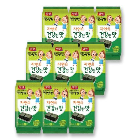 Dongwon Seasoned Laver in Tray(Parae for Kids) (9*6pcs) 54g