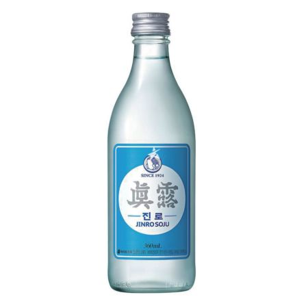 Jinro Soju 350ml 16.9% Alc./Vol