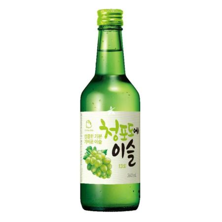Jinro Chamisul Soju Green Grape Flavour 13% Alc./Vol 360ml