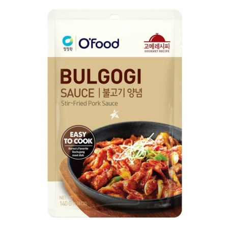 Daesang Chung Jung One O'Food Gourmet Recipe Bulgogi Sauce (Stir-Fried Pork Sauce) 140g