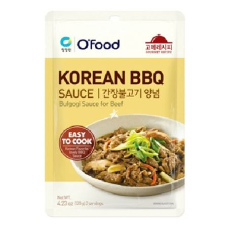 Daesang Chung Jung One  O'food Korean BBQ Bulgogi Sauce for Beef 120g