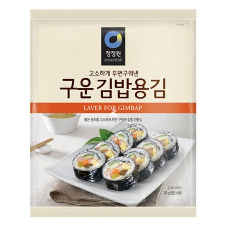 Daesang Chung Jung One Laver for Gimbap (10 Sheets) 20g