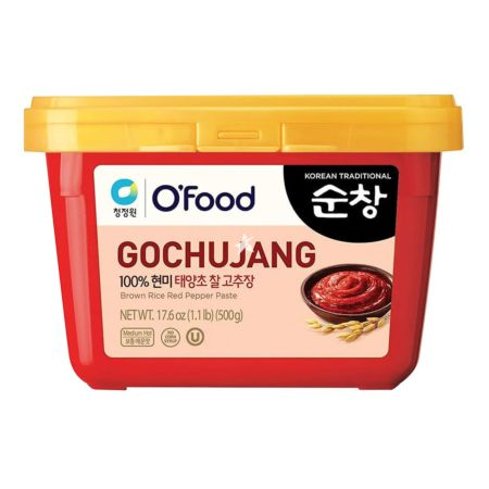 Daesang Chung Jung One Korean Gochujang (Red Pepper Paste) Gold 500g