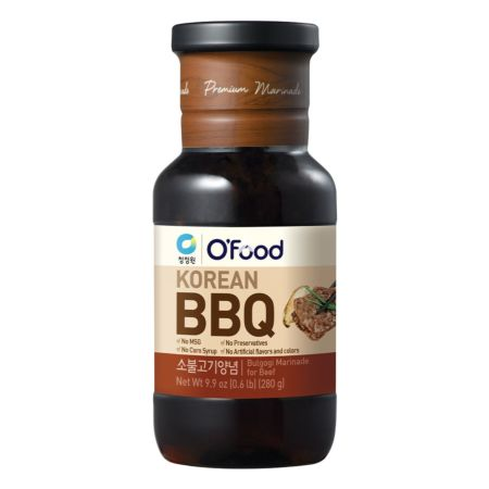 Daesang Chung Jung One O'food Korean BBQ Bulgogi Marinade for Beef 280g