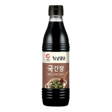 Daesang Chung Jung One Soy Sauce for Soup 500ml